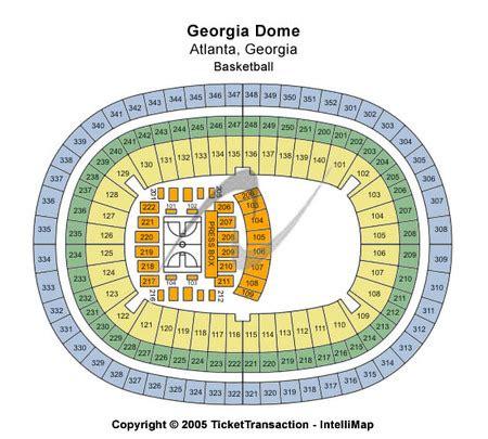Georgia Dome Tickets and Georgia Dome Seating Charts ...