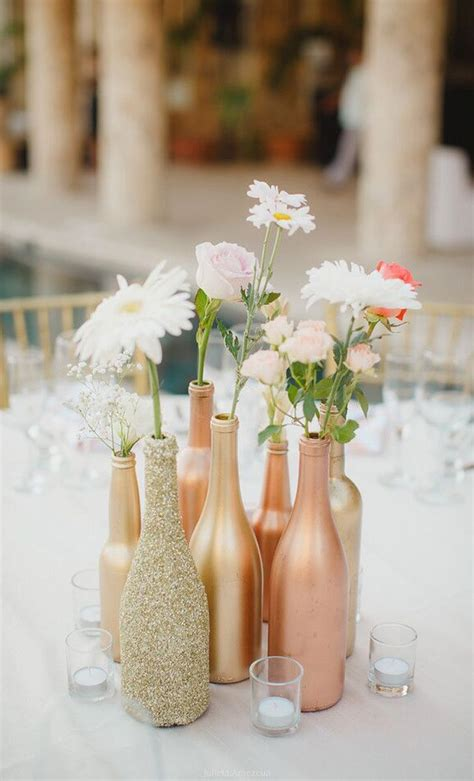 Best 25 Wine Bottle Flowers Ideas On Pinterest Wedding