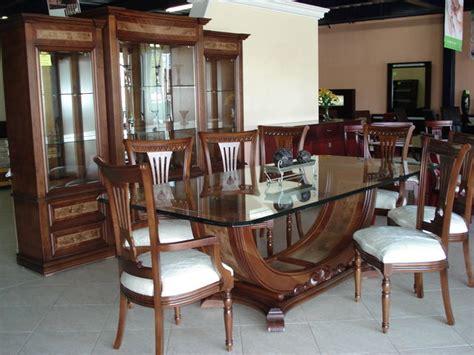 comedor venecia muebles finos de madera