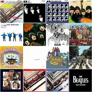 The Bell Factory  Pixelated Beatles Album Covers