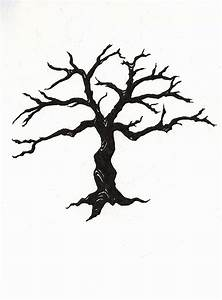 Dead Tree Silhouette - ClipArt Best