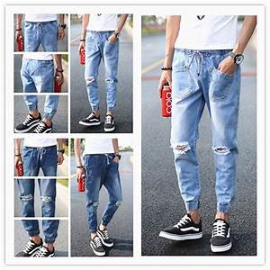 Jeans With Holes For Men Ye Jean