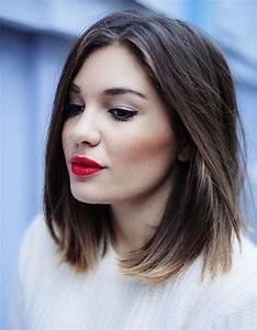 Coupe Cheveux Tete Ronde : coupe de cheveux pour tete ronde femme ~ Melissatoandfro.com Idées de Décoration