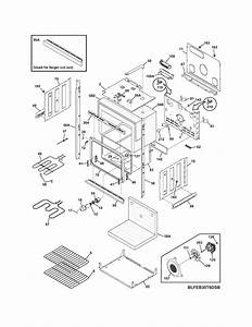 Frigidaire Feb30t6dcb Electric Wall Oven Parts