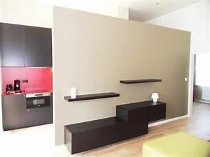 separation legere entre la cuisine et le salon mc interieur With separation entre cuisine et salon