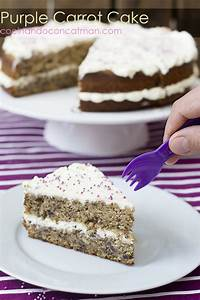 Tarta de Zanahoria morada - Purple Carrot Cake