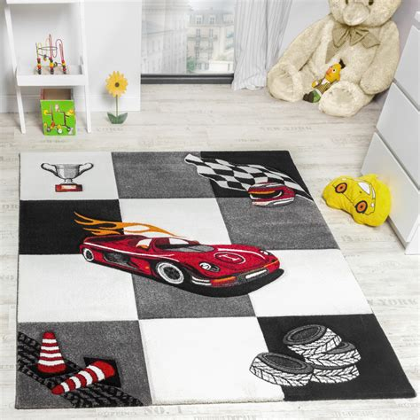 tapis chambre d 39 enfant tapis de jeux voiture de course