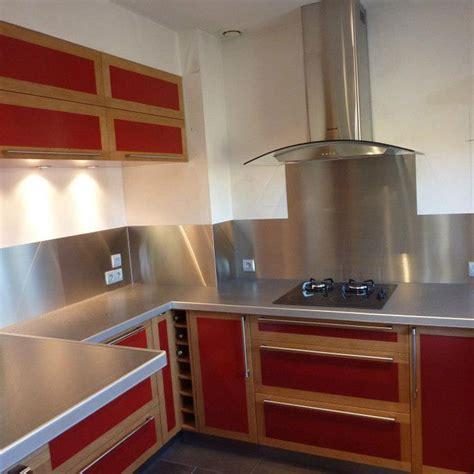 credence bois cuisine aménagement de cuisine en valchromat et chêne massif