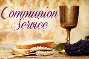 Service of Holy Communion African American