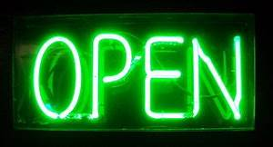 File Neon Open green Wikimedia mons
