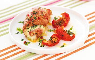 cote cuisine fr3 recette le gaulois escalopes de canard farcies aux herbes et ricotta