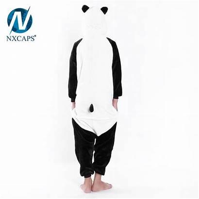 Anime Animal Pajamas Flap Onesie Panda Butt