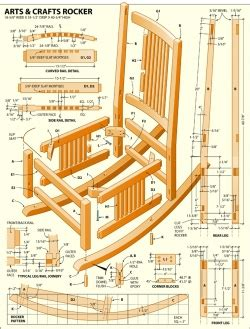 wooden rocking chair plans   build  amazing diy