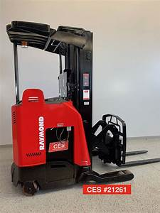Used 2008 Raymond Deep Reach Forklift