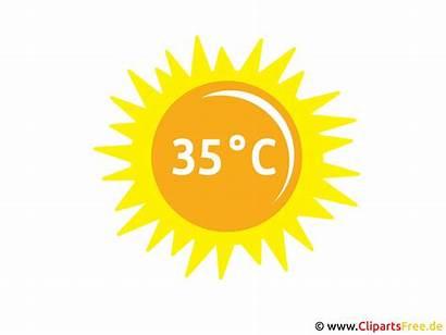 Sonne Clipart Clip Bild Wetter Temperatur Cliparts