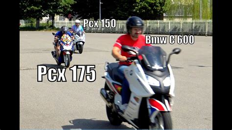 Pcx 2018 Unboxing by Pcx 150 175 Vs Bmw C600 Best 4k Doovi