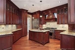 kitchen ideas cherry cabinets luxury kitchen design ideas and pictures