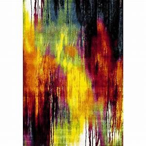 Tapis En Polypropylène : tapis color en polypropyl ne design janeiro ~ Teatrodelosmanantiales.com Idées de Décoration