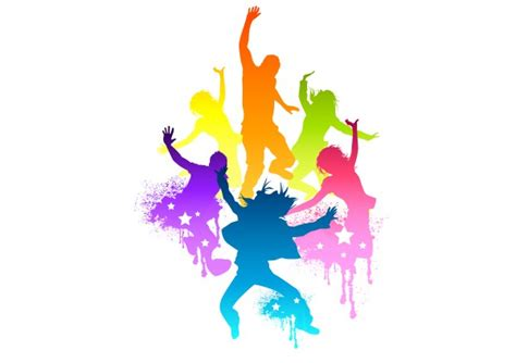 zumba dancer silhouette dance clipart fitness getdrawings