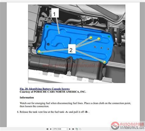 chilton car manuals free download 2009 porsche 911 lane departure warning porsche 991 2011 2015 service repair workshop manual auto repair manual forum heavy