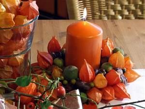 Lampions Selber Machen : herbstdekoration in orange meriseimorion ~ Lizthompson.info Haus und Dekorationen