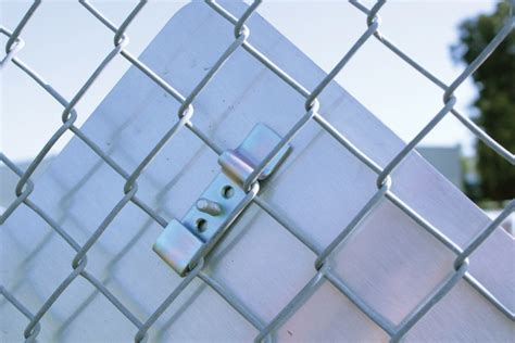 Introducing The Universal Chain Link Fence Sign Mount
