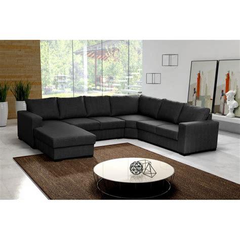 Canapé En U Panoramique 6 à 7 Places Moderne Et Design