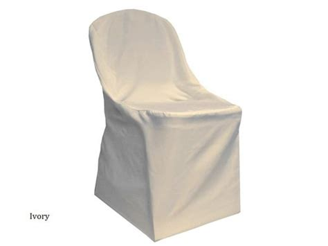 ivory folding chair cover waterford event rentals