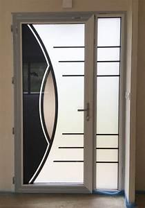 fermeture de porte d entree des idees lumineuses pour With porte d entrée alu avec beton ciré leroy merlin salle de bain