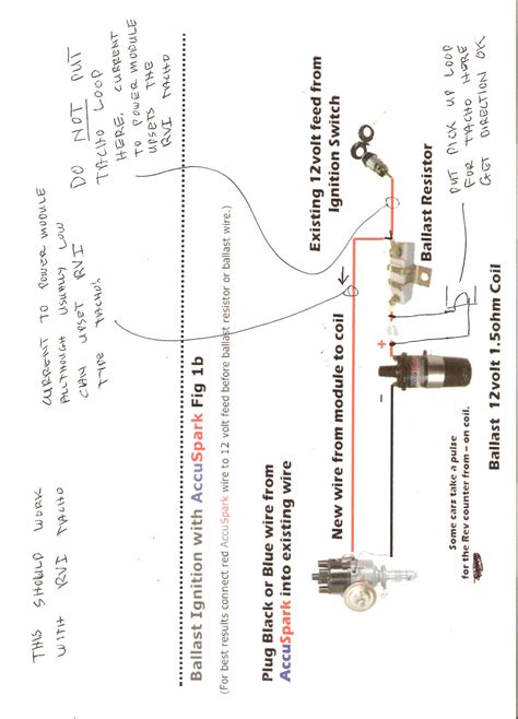 Ignition Coil Resistor Wiring Ignition Coil Resistor Wiring Diagram
