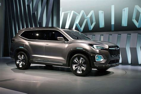 subaru ascent release interior towing capacity