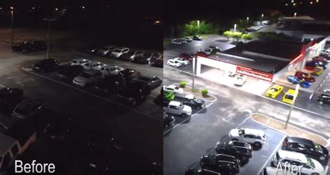 Watch This Car Dealership Transform Their Parking Lot With
