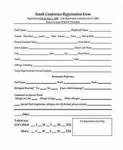 21 conference registration forms With participant registration form template