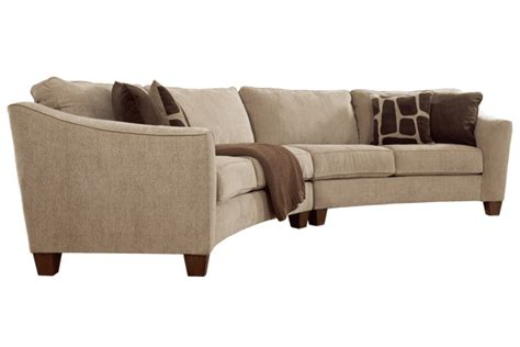 curved sofa ashley furniture a curved sofa consider the benefits