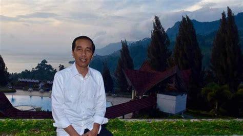 jokowi minta sektor pariwisata  sumatera utara