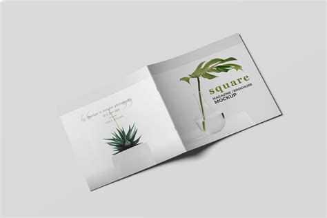 A Collection Of Free Psd Brochure Mockups Set Of Brochure Mockups Mockupworld