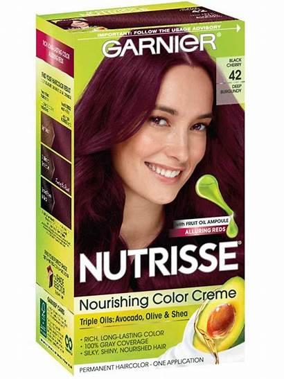 Burgundy Deep Hair Garnier Nutrisse Cherry Brown