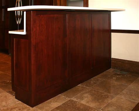 base cabinet bar st louis kitchen cabinets bar height