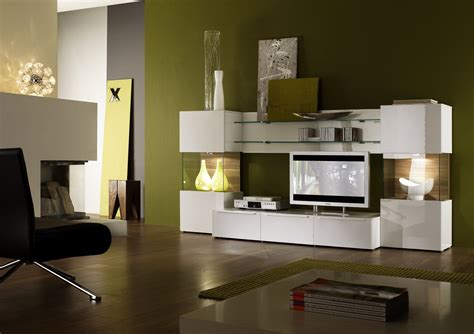Living Room Glass Unit by Stylish Modern Living Room Design Feature Glossy White Tv