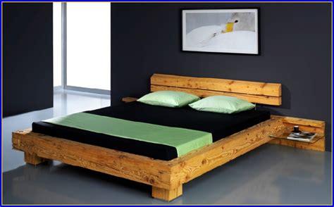 Betten Aus Naturholz  Betten  Hause Dekoration Bilder