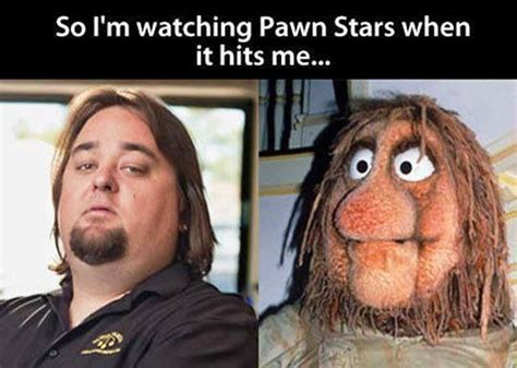 Fraggle Rock Meme - chumlee and that muppet from fraggle rock my best humor pin community board pinterest