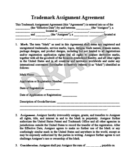 assignment agreement gtld world congress