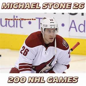 Michael Stone Reaches 200 NHL Games | Spyder Sports Lounge