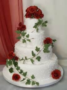 wedding cake with roses wedding cakes pictures four tier roses wedding cake