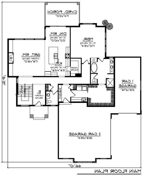 66118 Basement plans House plans Room dimensions