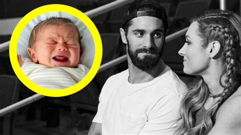 becky lynch seth rollins  openly discussing babies