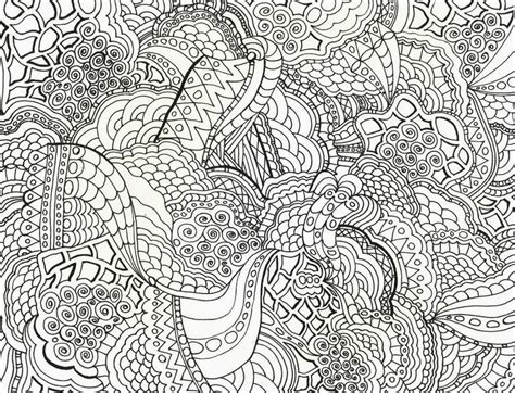 16 Printable Difficult Coloring Pages