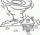 Tornado Coloring Pages Printable Coloringonly Categories sketch template