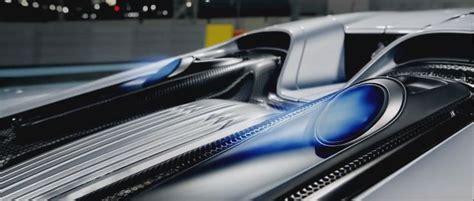 New Porsche 918 Spyder Exhaust Blue Flame Car