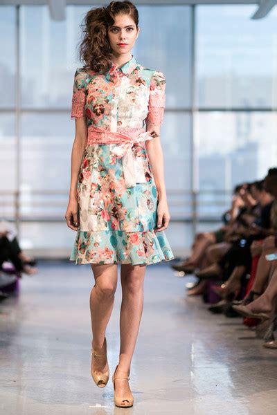 Yuna Yang at New York Fashion Week Spring 2015 StyleBistro